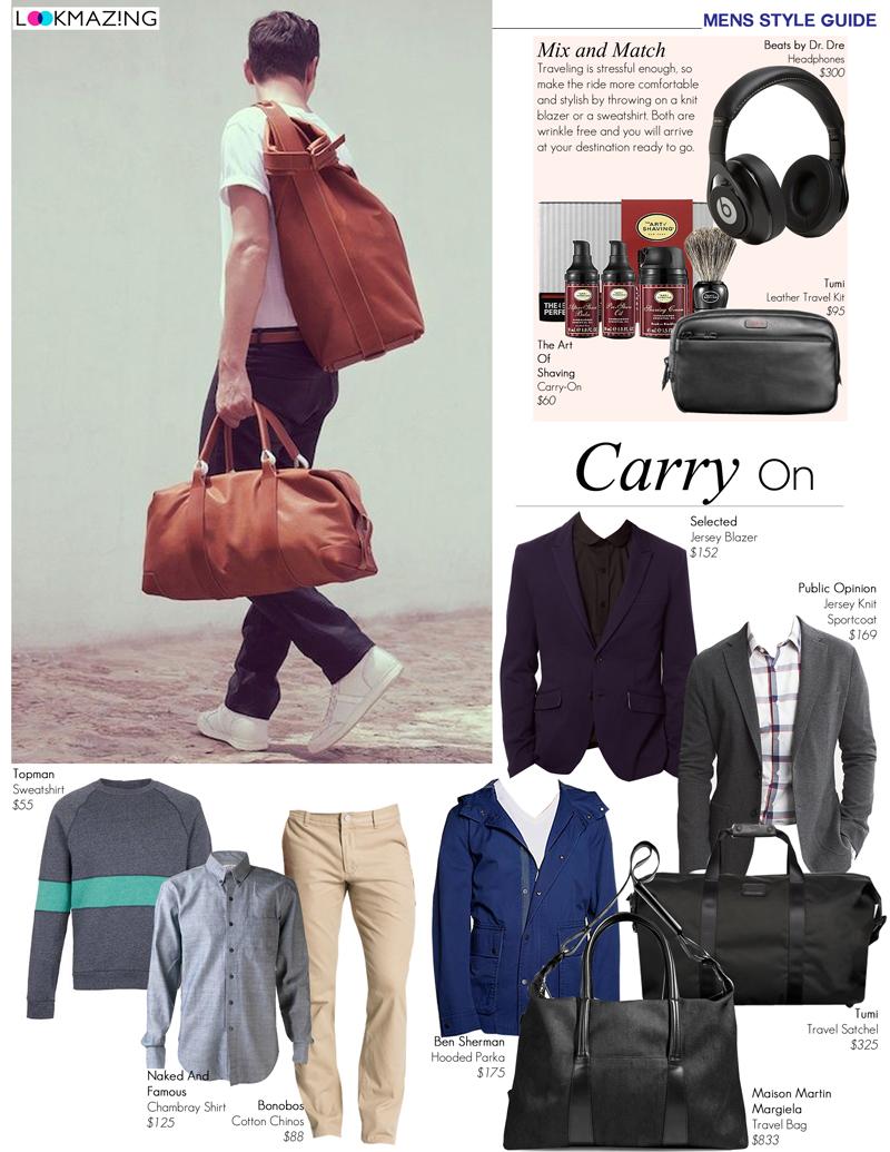 Men's Travel Tips